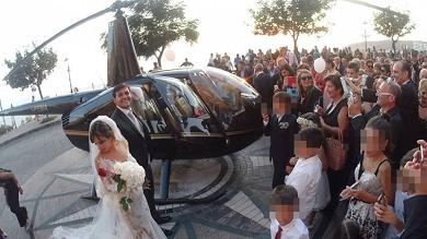 Ndrangheta, chiesto lo scioglimento di Nicotera, il Comune degli sposi in elicottero