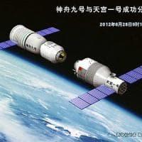 La stazione spaziale cinese è fuori controllo. ''Precipiterà sulla Terra
