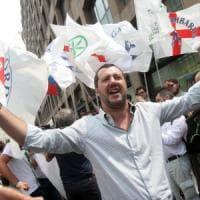 """Salvini insiste: """"Chi non viene ai miei comizi è una #boldrina"""""""