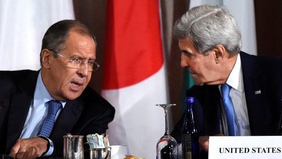 Siria: non c'è accordo su cessate il fuoco. Nelle prossime nuovo incontro tra Usa e Russia