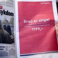 """""""Brad è single, vola a Los Angeles con 130 euro"""": la geniale pubblicità della low cost..."""