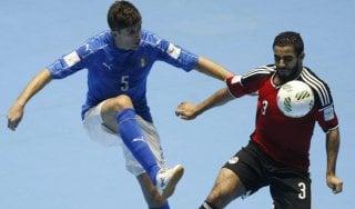 Calcio a 5, Mondiale: l'Egitto affonda l'Italia, azzurri fuori agli ottavi