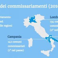 Comuni commissariati: tra dissesti e mafia, ogni anno 2,5 milioni di cittadini