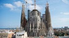 Spagna, riapre il cantiere  della Sagrada Familia sarà completa nel 2026