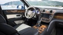 Colpo di scena, il diesel sale sulla Bentley    Foto