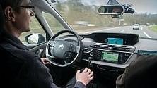 Auto a guida autonoma di PSA, che maratonete