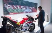 Renzi inaugura il museo Ducati