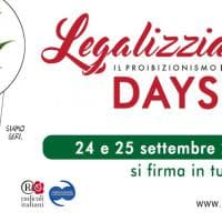 'Legalizziamo days', la raccolta di firme per la cannabis legale
