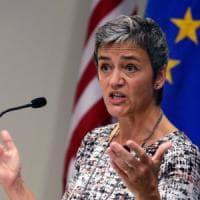 """Margrethe Vestager: """"Su tasse, sussidi e multinazionali è scontro di culture tra Europa e..."""