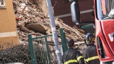 Roma, crolla una palazzina   mappa        era stata fatta evacuare la sera prima   foto