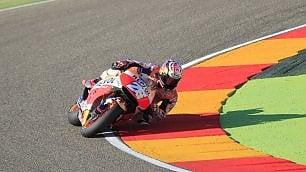 Marquez in pole a Aragon Rossi è solo sesto