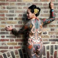 L'arte indelebile: oltre 400 tatuatori alla convention di Londra