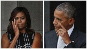 Usa, Obama inaugura museo afroamericano: Michelle si commuove