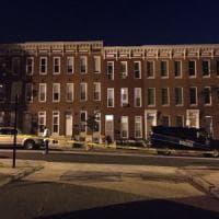 Usa, spari in strada a Baltimora. Otto feriti, si cercano tre assaltatori