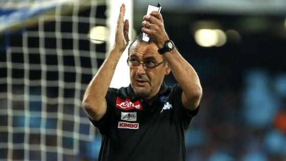 Napoli, Sarri ritrova il sorriso. E contro il Benfica anche i tifosi