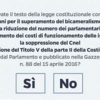 Referendum costituzionale, domani il governo deciderà la data