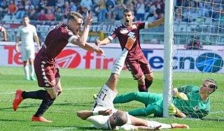 Torino-Roma 3-1, Belotti e Falque danno una lezione ai giallorossi