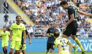Inter-Bologna 1-1: Perisic risponde a Destro, il pari fa sorridere solo Donadoni