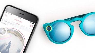 Snapchat lancia Spectacles   foto   gli occhiali per condividere video