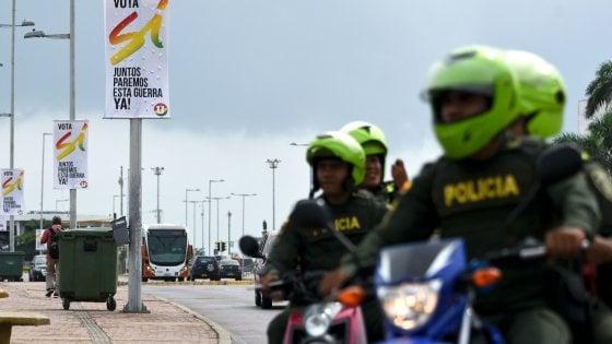 Colombia: Farc e governo firmano la pace, i grandi del mondo si riuniscono a Cartagena