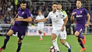 I viola fermano  il Milan: 0-0 Totti non basta Toro-Roma 3-1 Inter solo pari