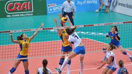 Volley donne, missione compiuta per l'Italia: battuta l'Ucraina, azzurre agli Europei