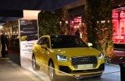 Dolce e Gabbana sulla nuova Audi Q2 alla boutique di via Montenapoleone