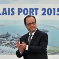 Migranti, Hollande a Calais: