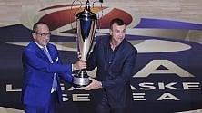 Basket, un nuovo logo lancia il campionato. Sarà ancora Milano contro tutti