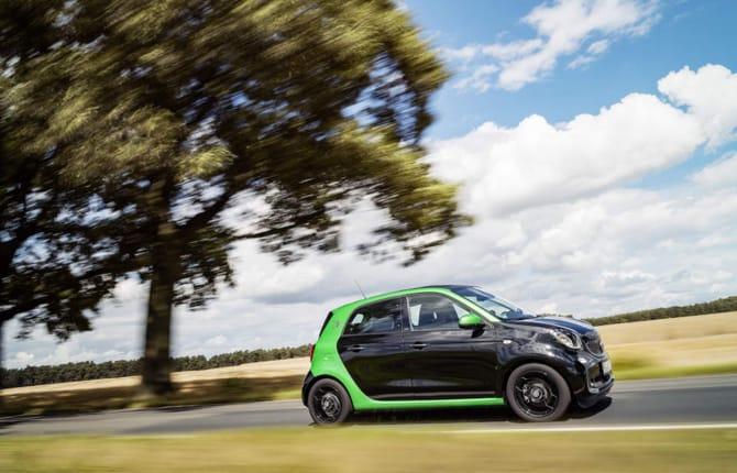 La smart electric drive si fa in quattro