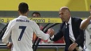 Ira Ronaldo per il cambio CR7 esce e insulta Zidane