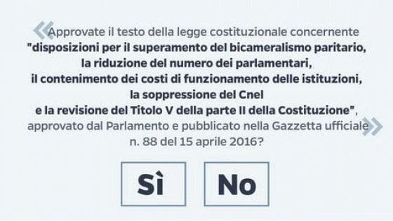 Referendum, oggi si decide sulla data del voto. Le opposizioni contro Renzi