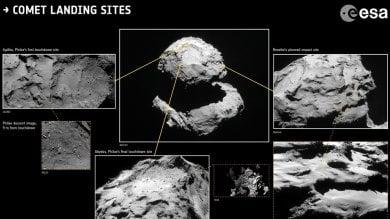 L'addio a Rosetta, il 30 settembre   foto    la sonda si spegnerà sulla cometa   video