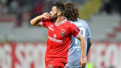 Nicastro rialza il Perugia   video   Bucchi si salva, Spal ko