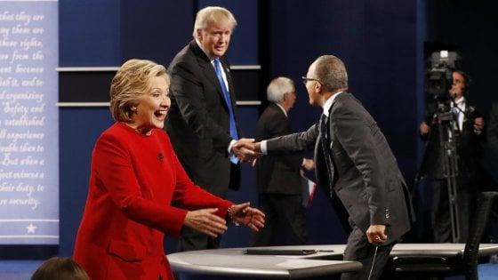 Elezioni Usa, Hillary Clinton vince il primo confronto tv
