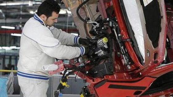 Aumenta il fatturato dell'industria italiana, ma crollano gli ordini