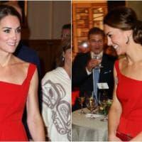 Bella in rosso: Kate Middleton strega il Canada
