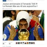 """""""Auguri a Fernando Totti"""". L'errore della Fifa in francese"""