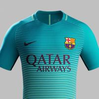 Barcellona in verde, ecco la terza maglia