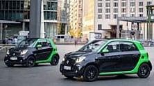 La Smart electric si fa in quattro  Foto   1   -   2   -    3