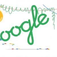Google è maggiorenne: il doodle per i 18 anni