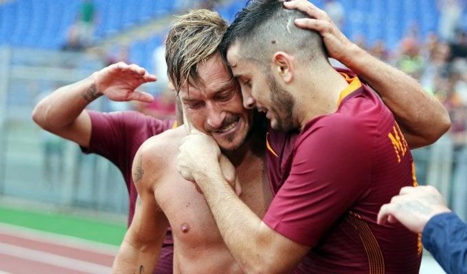 Totti e i 40 anni: 'C'era il Real, ho scelto Roma'   ft