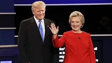 Clinton batte Trump nel  primo dibattito