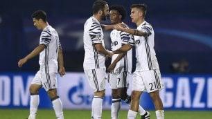 Champions, Dinamo Zagabria-Juventus 0-4: un poker che vale il primo posto