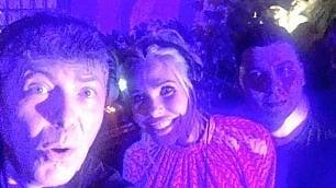 Ilary Blasi, dj per amore al party per i 40 anni di Totti