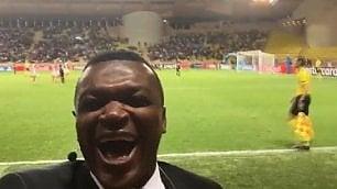 Desailly già commenta la sconfitta    ma il Monaco pareggia in diretta