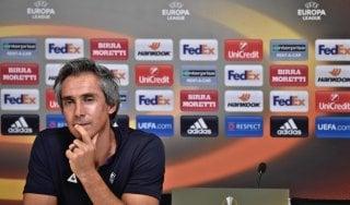 """Fiorentina, Sousa: """"Segniamo poco, ma siamo in crescita"""""""