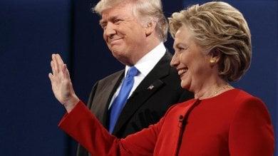 Presidenziali, Hillary guadagna 2 punti nel primo sondaggio dopo il dibattito