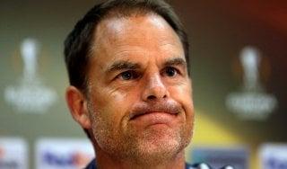"""Inter,  novità De Boer: """"Cambio modulo. Brozovic? E' stato punito, serve tempo"""""""