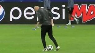 Zidane, tocco magico intatto Lo stop è da Pallone d'oro